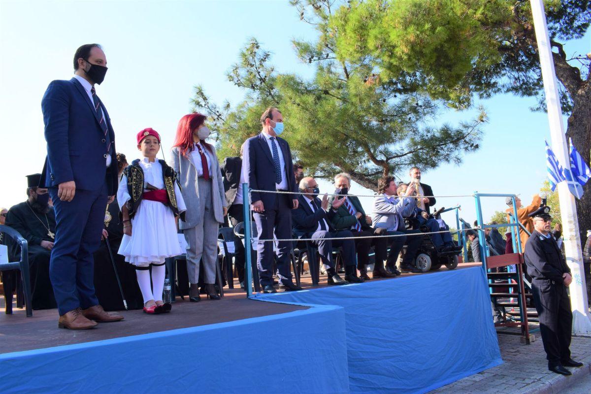 Σε κλίμα περηφάνιας η μαθητική παρέλαση στην Καλαμαριά – Οι δηλώσεις Δαρδαμανέλη