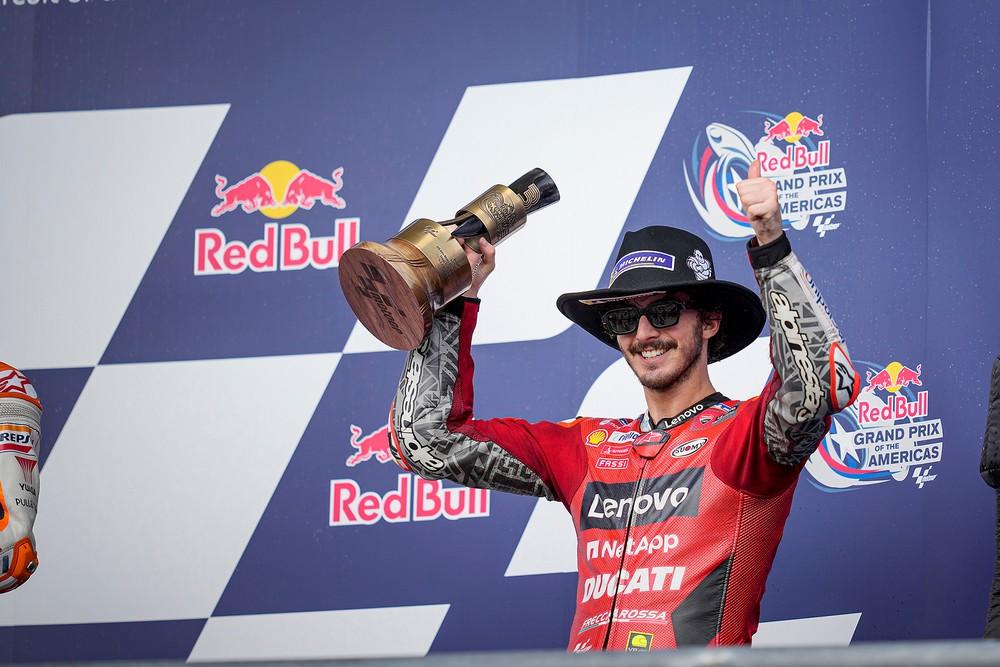 Νίκη για την Ducati και βάθρο για τον Pecco Bagnaia