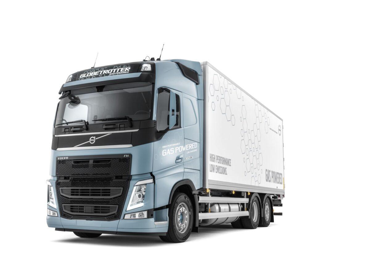 Ο πρώτος τράκτορας Volvo FH LNG με υγροποιημένο φυσικό αέριο