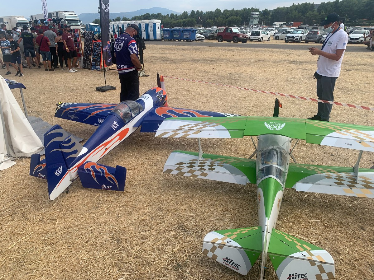 RC Kavala Acro Team: Εντυπωσίασε το κοινό του ακροβατικού αερομοντελισμού