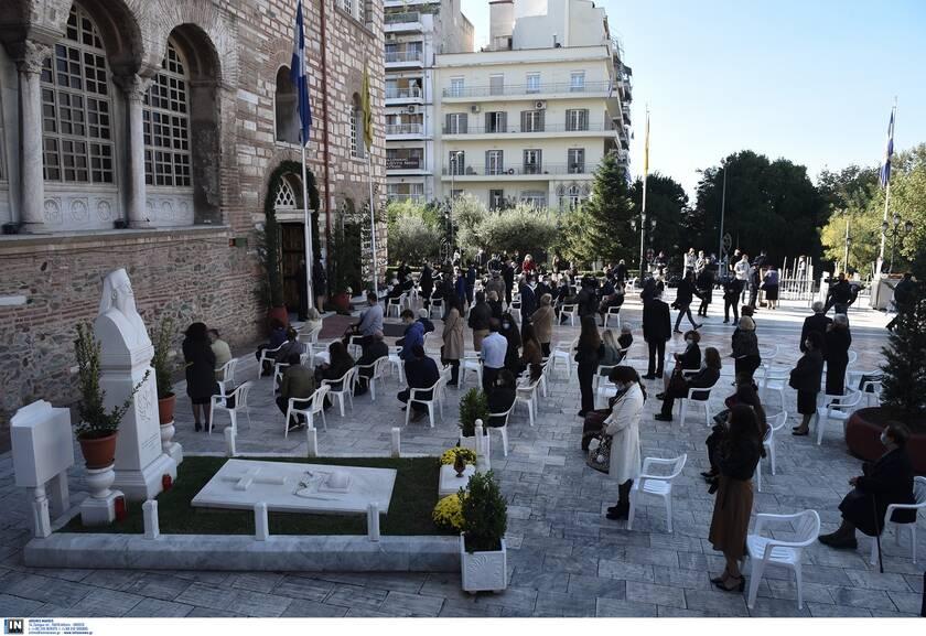 Ιερός Ναός Αγίου Δημητρίου: Τηρήθηκαν τα προβλεπόμενα μέτρα προστασίας
