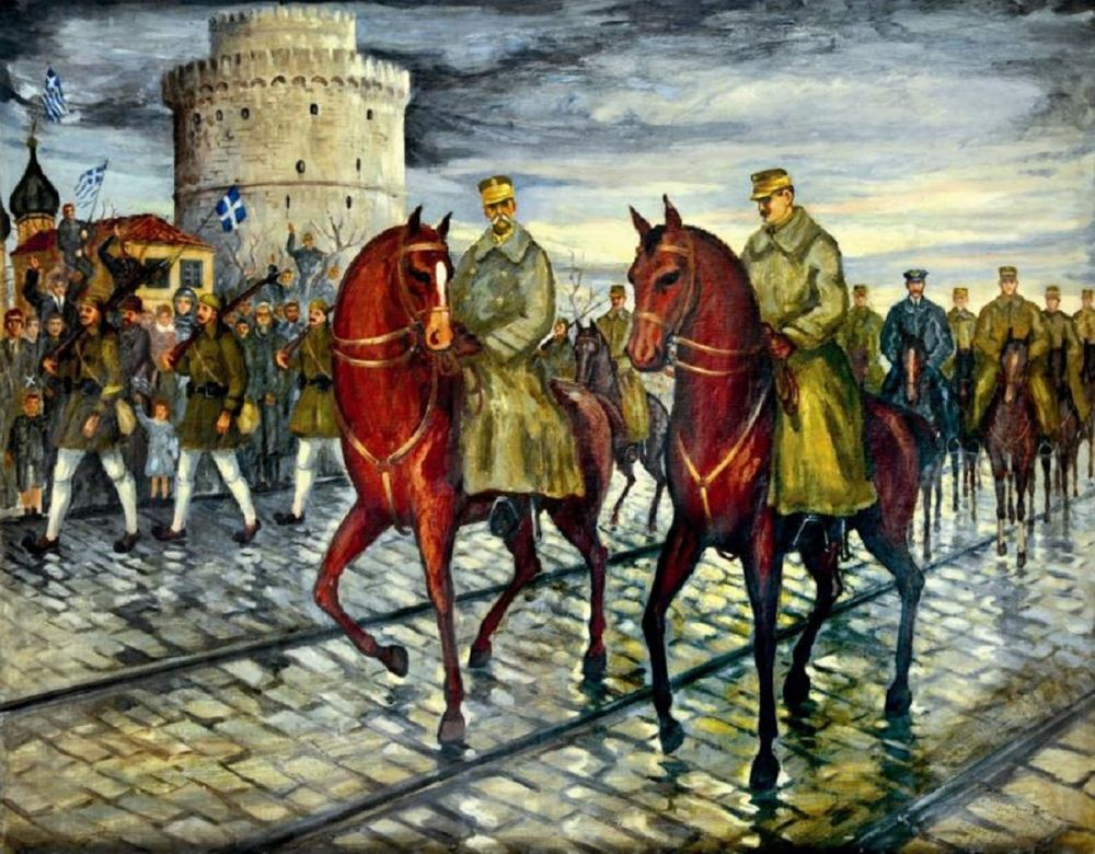 ThessHistory podcast : Η απελευθέρωση της Θεσσαλονίκης το 1912
