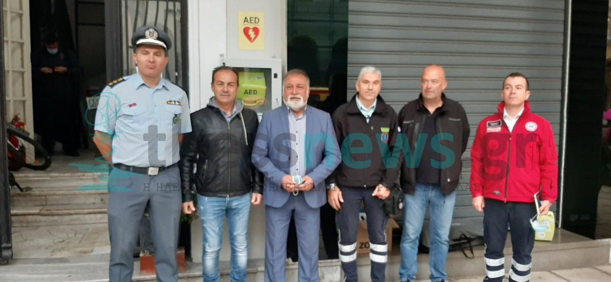Θεσσαλονίκη: Εγκαταστάθηκε απινιδωτής στην πλατεία Αριστοτέλους – Η σωτήρια λειτουργία του (ΦΩΤΟ)