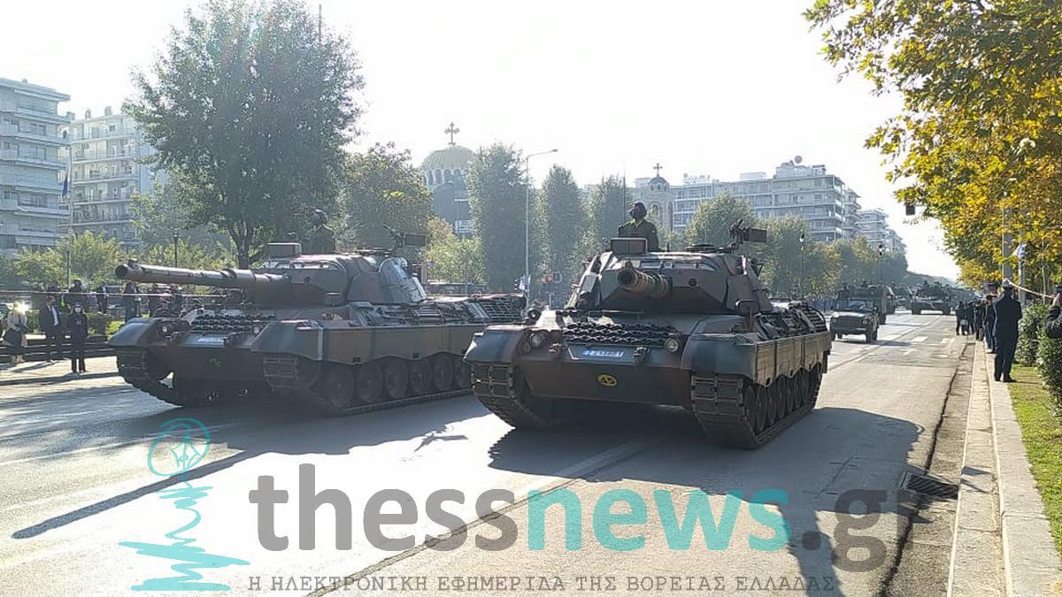 Ξεκίνησε η μεγάλη στρατιωτική παρέλαση στην παραλιακή λεωφόρο (VIDEO)