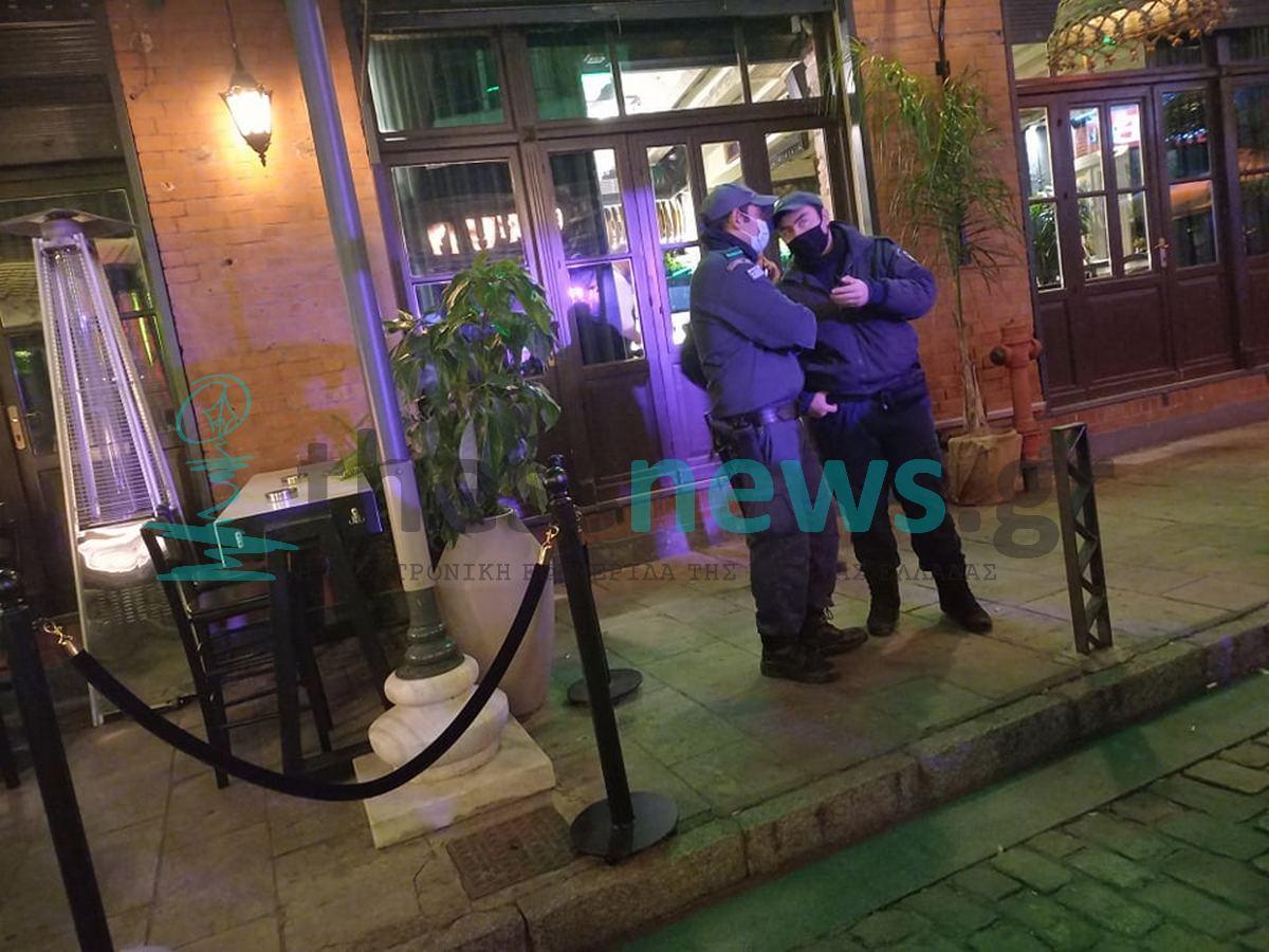 Θεσσαλονίκη: Έλεγχοι της αστυνομίας στα Λαδάδικα (ΦΩΤΟ)