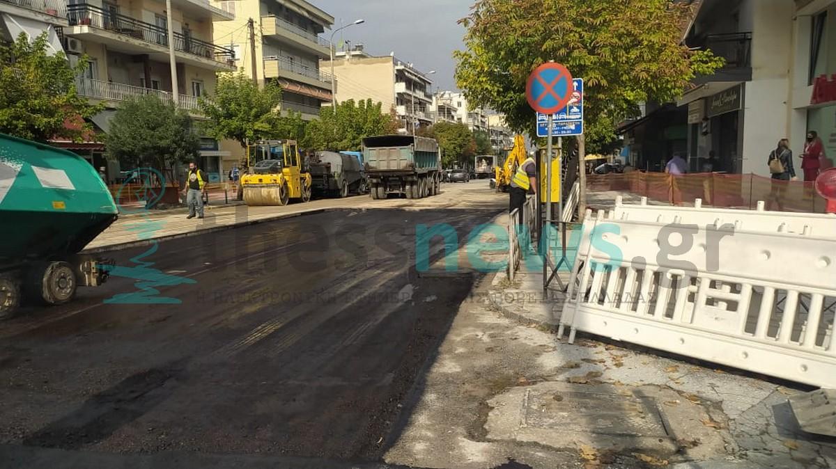 Θεσσαλονίκη: Το μεσημέρι ξανά στην κυκλοφορία η Εθνικής Αντιστάσεως (ΦΩΤΟ+VIDEO)
