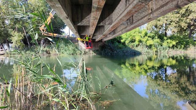 Δήμος Πέλλας: Eργασίες ελέγχου στατικότητας της γέφυρας του Λουδία
