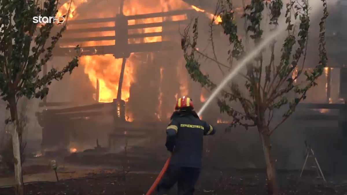 GNTM 4: Εσπευσμένη μεταφορά των μοντέλων λόγω της φωτιάς στις Αφίδνες (video)