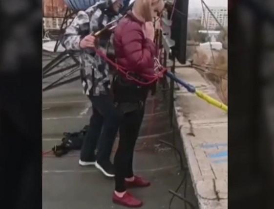 Έκανε bungee jumping από τα 25 μέτρα και βρήκε τραγικό θάνατο (VIDEO)