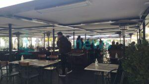 Παρέμβαση ΕΕΘ για το πρόβλημα ηλεκτροδότησης των εξωτερικών χώρων καταστημάτων στην Πλατεία Αριστοτέλους