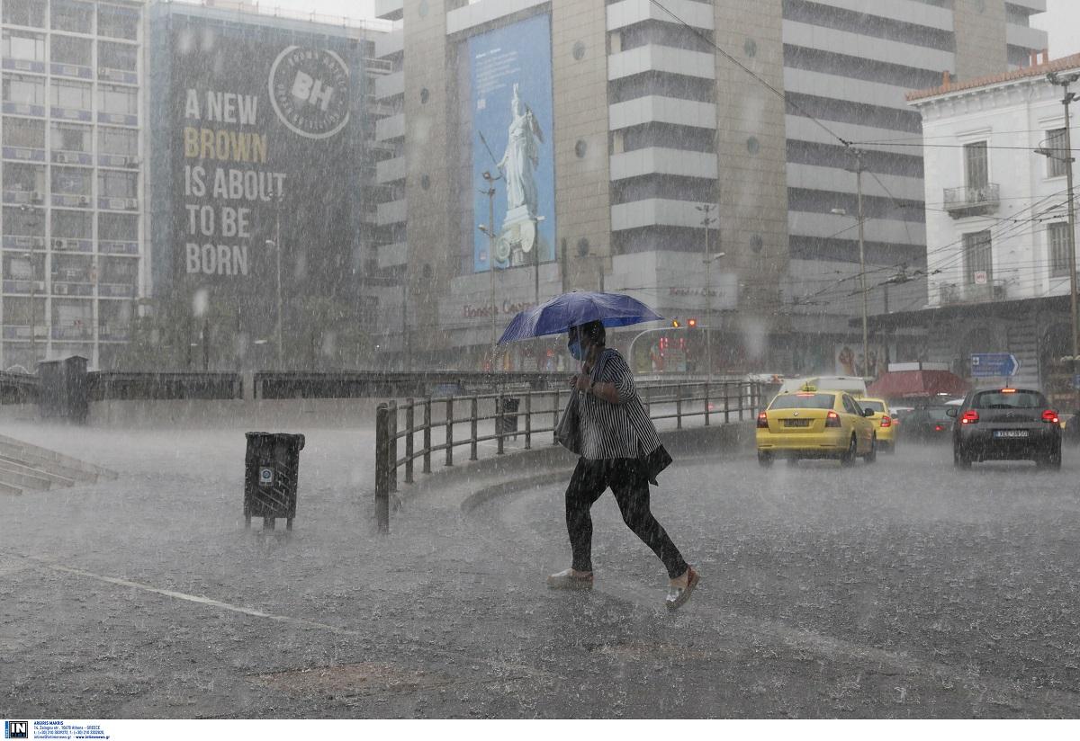 Κακοκαιρία «Αθηνά»: Έριξε «τουλούμια» χθες σε όλη την Ελλάδα – Ισχυρές βροχοπτώσεις και σήμερα (ΦΩΤΟ)