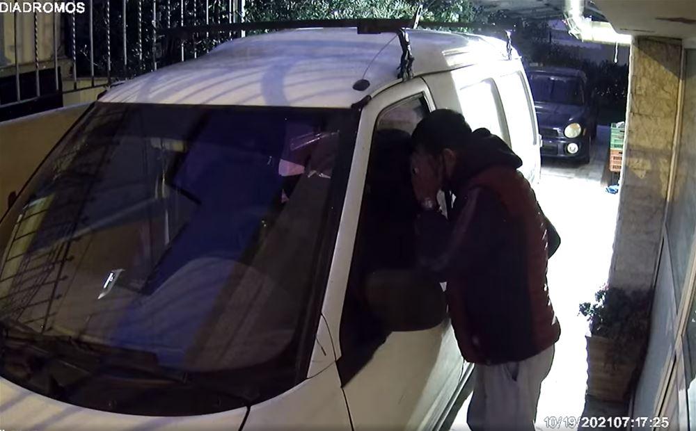 Συκιές: Έτσι πήγε να κλέψει αυτοκίνητο (VIDEO)