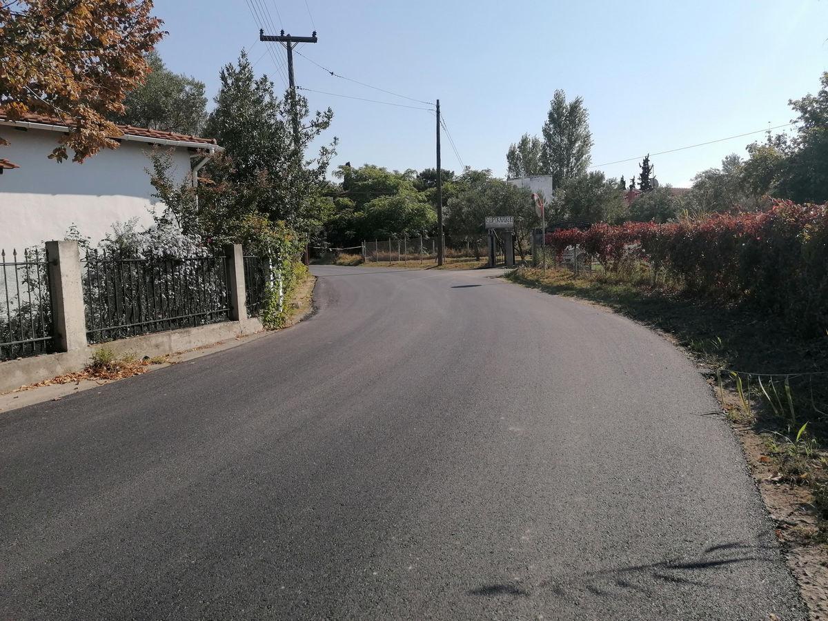 Δήμος Κορδελιού – Ευόσμου: Δύο ακόμη δρόμοι ασφαλτοστρώθηκαν και παραδόθηκαν στους δημότες