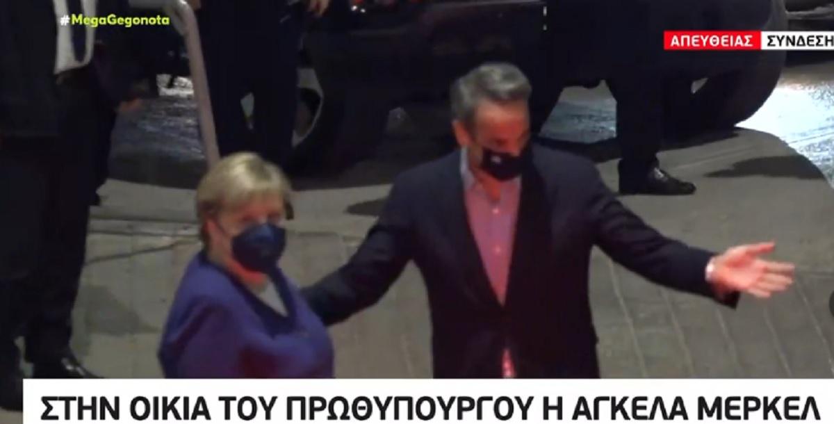 Έφτασε στην Αθήνα η Μέρκελ – Το αυριανό πρόγραμμα (VIDEO)