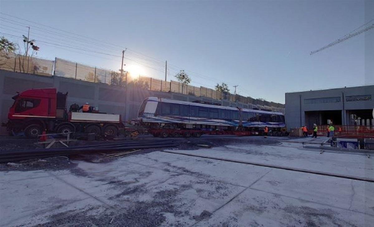 Έφτασε στη Θεσσαλονίκη ο 16ος συρμός του Μετρό (VIDEO)