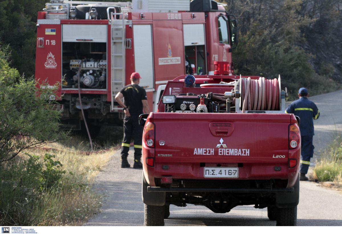 Θεσσαλονίκη: Φωτιά σε όχημα στην οδό Λαγκαδά