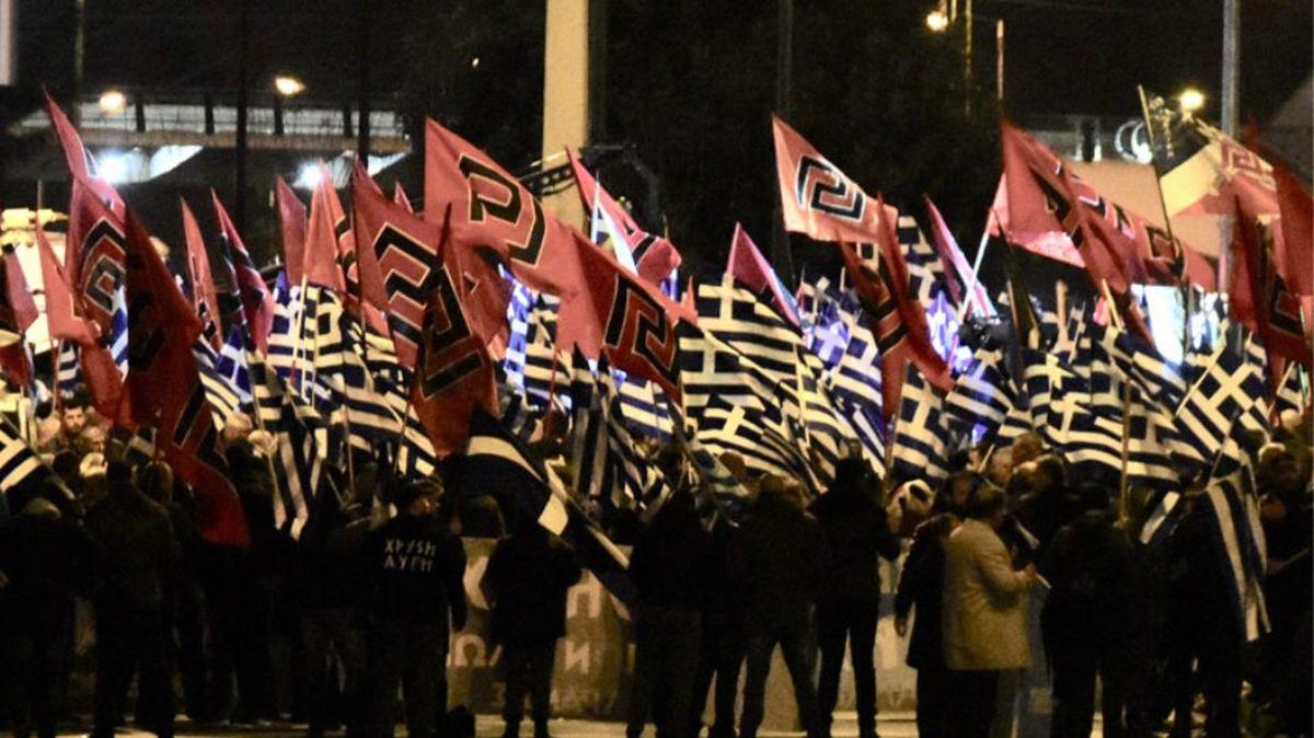Θεσσαλονίκη: Επετειακή εκδήλωση μελών της Χ.Α ένα χρόνο μετά την καταδίκη ως εγκληματική οργάνωση