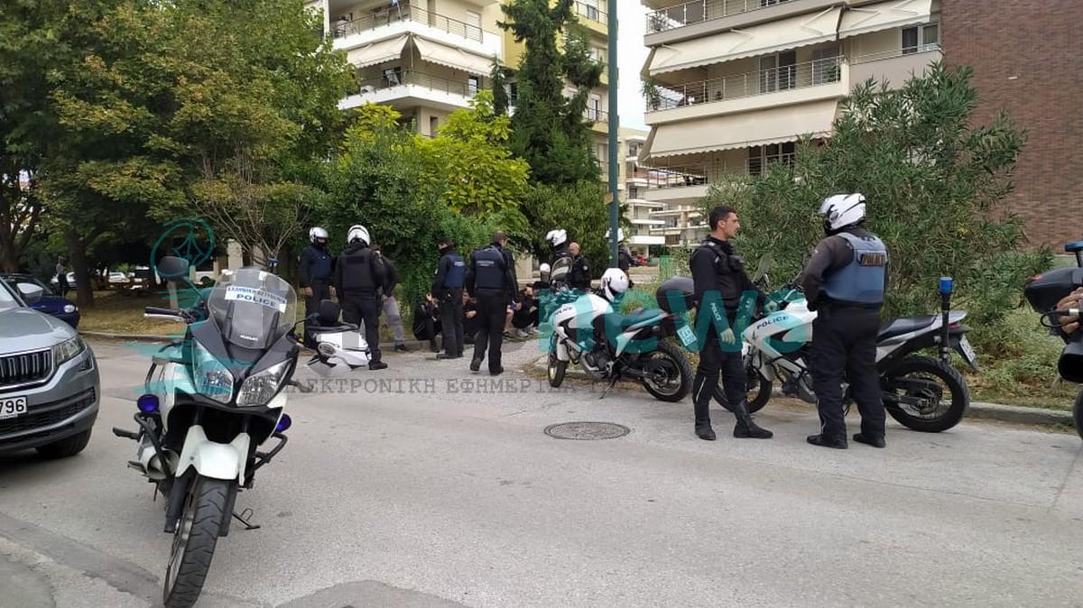 H ανακοίνωση της αστυνομίας για τις 38 προσαγωγές στην Δυτική Θεσσαλονίκη