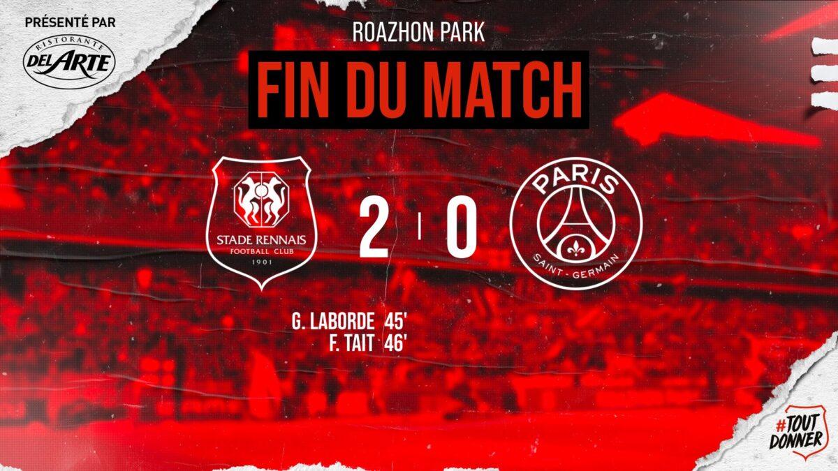 Ηττήθηκε με 2-0 από τη Ρεν η Παρί Σεν Ζερμέν του Μέσι! (VIDEO)
