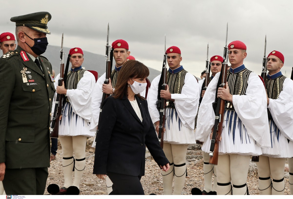 K.Σακελλαροπούλου: Για την 77η επέτειο της απελευθέρωσης της Αθήνας