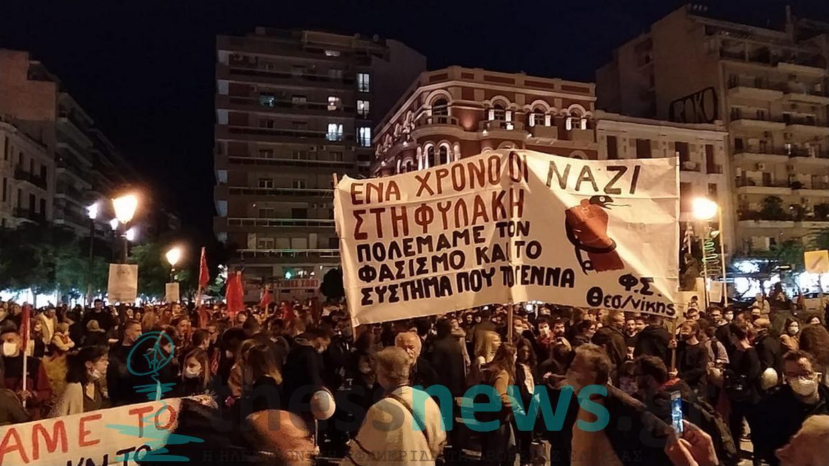 Θεσσαλονίκη: Αντιφασιστική συναυλία από φοιτητικούς συλλόγους και εργατικά σωματεία (ΦΩΤΟ & VIDEO)