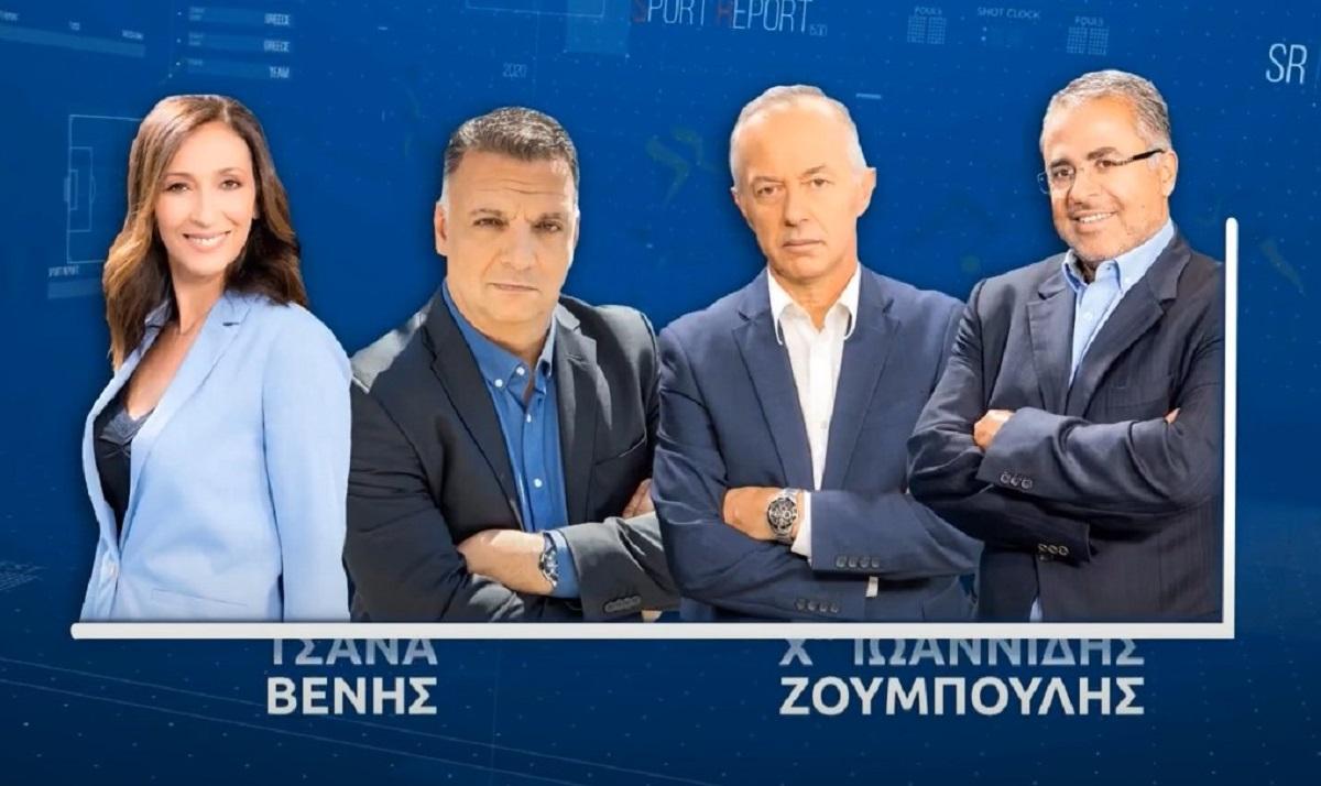 Το Sport Report στην TV100 για δέκατη συνεχή χρονιά (VIDEO)