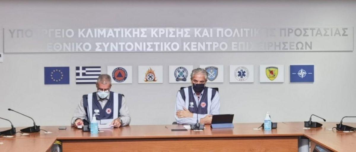 Χρ. Στυλιανίδης: Κανένας εφησυχασμός, όλες οι δυνάμεις δίπλα στους πολίτες