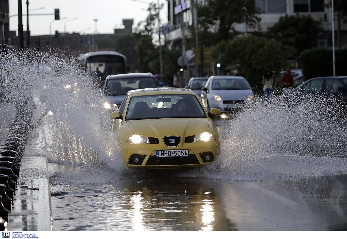 Θεσσαλονίκη: Ποιοι δρόμοι παραμένουν κλειστοί λόγω κακοκαιρίας