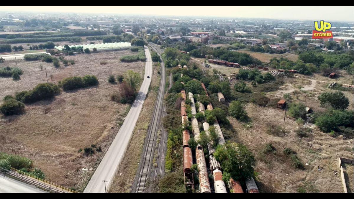 """Θεσσαλονίκη: Ένα από τα μεγαλύτερα """"νεκροταφεία τρένων"""" στον κόσμο βρίσκεται στην πόλη (VIDEO)"""
