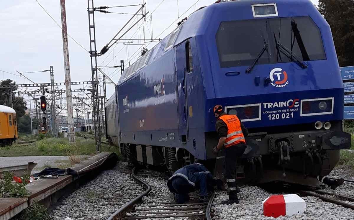 Ο OΣΕ για τον εκτροχιασμό του τρένου στην Θεσσαλονίκη