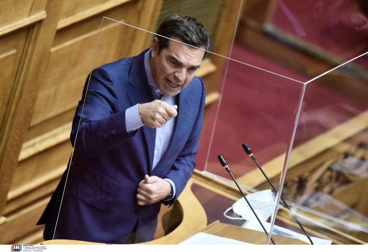 A. Τσίπρας:  O κ. Μητσοτάκης κάνει μία ομιλία εμπρηστική, μία ομιλία που δεν αρμόζει στο ύψος ενός πρωθυπουργού