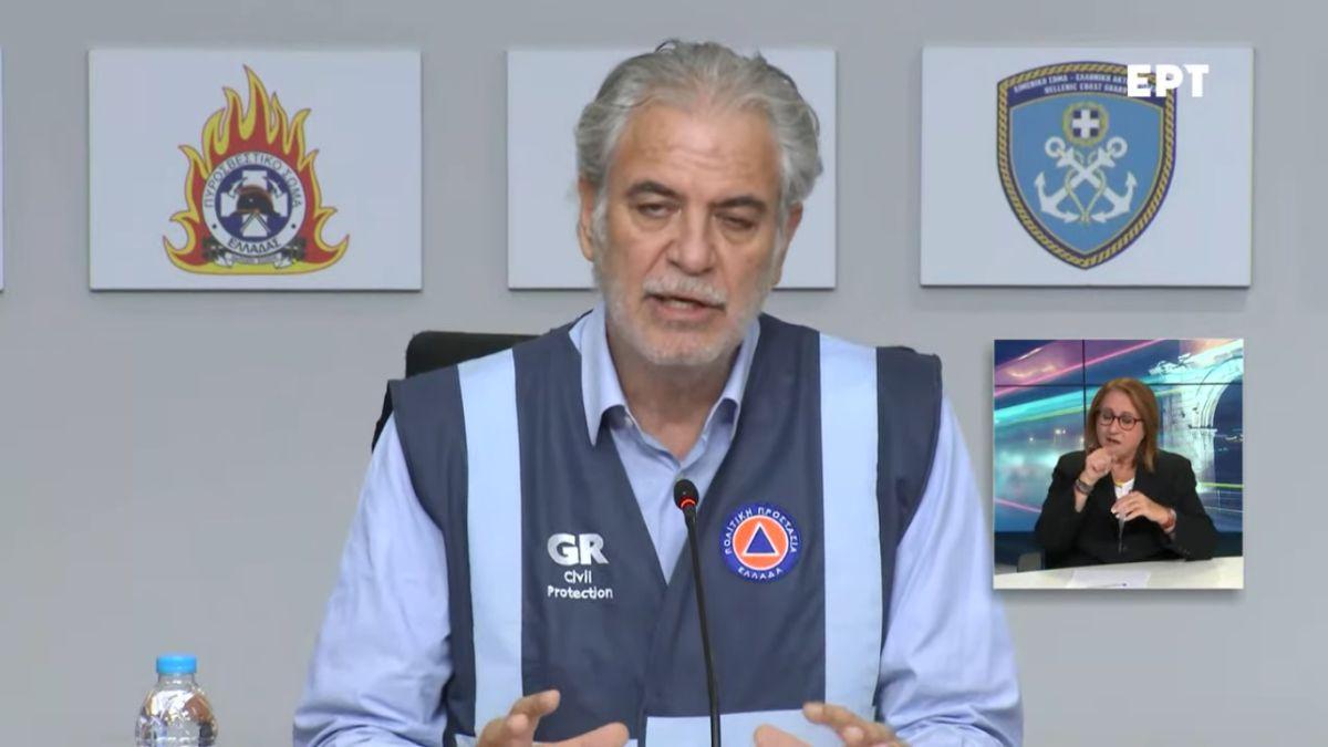 Στυλιανίδης: Κλειστά τα σχολεία στην Χαλκιδική – Απαγόρευση κυκλοφορίας στον Κηφισό το βράδυ